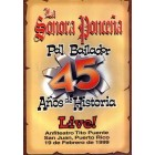"""Sonora Ponceña """"Pa'L Bailador 45 Años De Historia Live"""" - DVD"""