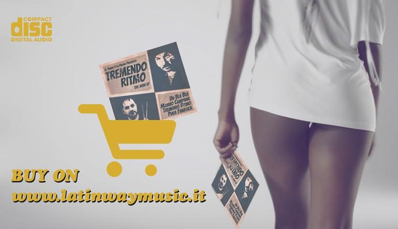 """El Timba Y La Palma Presents """"Tremendo Ritmo EP""""   CD"""