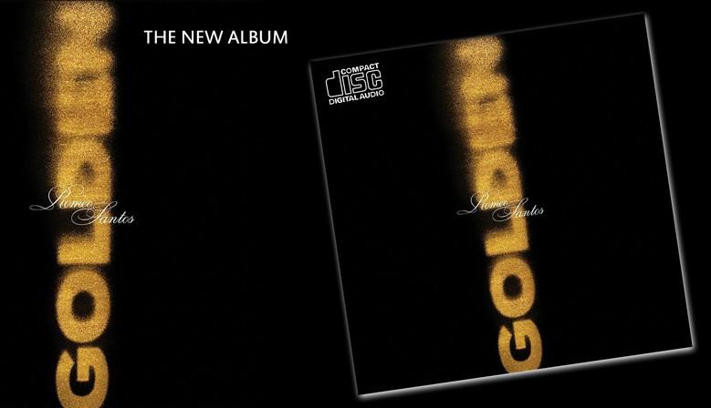 "Romeo Santos ""Golden""   CD"