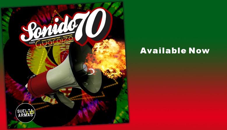 """Sonido 70 """"Suelta Las Armas""""   CD"""