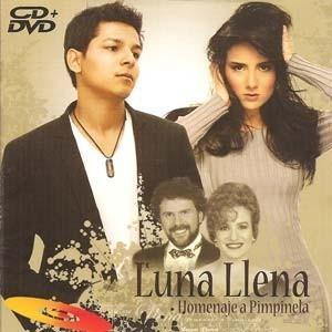 "Luna Llena ""Homenaje a pimpinela""   CD/DVD"
