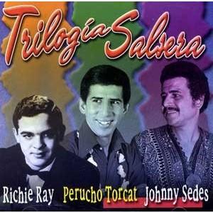 "Richie Ray/Perucho Torcat/Johnny Sedes ""Trilogia Salsera"" - CD Usado"