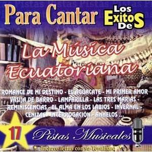 17 Pistas para Cantar Musica Ecuatoriana - CD