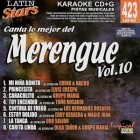 Lo Mejor Del Merengue Vol.10 -Karaoke CD + G