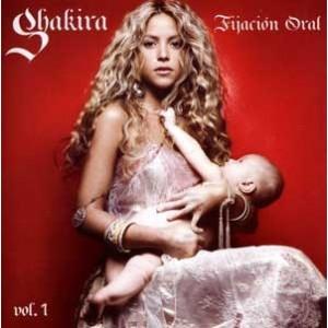 Shakira - Fijaciòn Oral - Cd+Dvd Usado