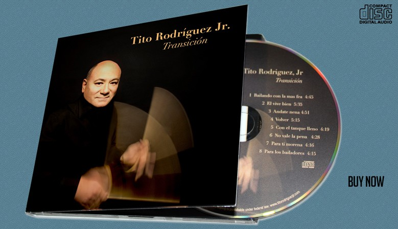 "Tito Rodriguez Jr ""Transicion"" | CD"