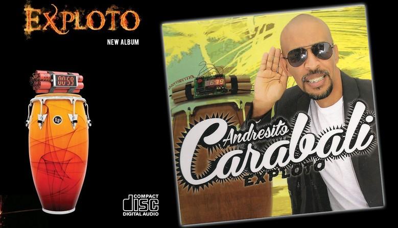"""Andresito Carabali """"Exploto""""   CD"""